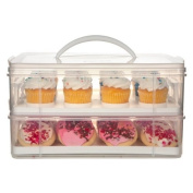 Snapware 2-Layer Cupcake and Cookie Carrier