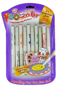 FooDoodler Food Colouring Markers - 10 Colours - Kosher (1, A) by Private Label