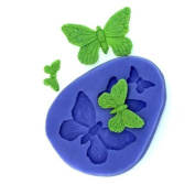 Butterfly Fondant and Gum Paste Silicone Resin Clay Moulds Baking Moulds Cake Decoration