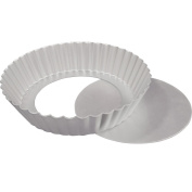 Fat Daddio's Fluted Tart Pan 30cm x 5.1cm Removable Bottom