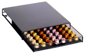 DecoBros Coffee Pod Storage Mesh Nespresso Drawer holder for 56 Capsules, Black