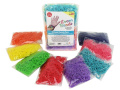 Loom Rubber Bands - 4800 pc Rubber Band Refill Mega Value Pack with Clips (Rainbow Colours - 600 each of 8 Assorted Colour) - 100% Compatible with all Looms