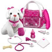 Barbie Hug N' Heal Pet Doctor-Lab Set