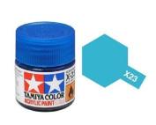 Tamiya Models X-23 Mini Acrylic Paint, Clear Blue