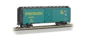 Bachmann Industries Aar 12m Steel Box Car New York, Susquehanna and Western (Suzy Q) Train Car, N Scale