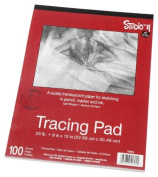 Darice 23cm -by-30cm Tracing Paper, 100-Sheets