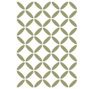 J BOUTIQUE STENCILS Geometric Lattice Stencil For Crafting Canvas DIY decor Wall art furniture