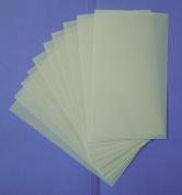 Heavy Duty 14mil Mylar Stencil Sheets - .36cm Thick Polyester Sheet 15cm x 25cm