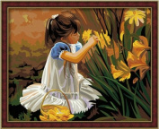 Diy oil painting, paint by number kit- Pick Four Seasons 16*50cm .