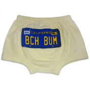 Sol Baby BCHBUM California Yellow Licence Plate Nappy Cover
