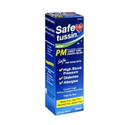 Safetussin PM Adult Night Time Cough Relief