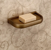 Rozinsanitary Antique Brass Soap Dish Holder Wall Mounted