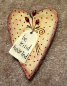 Blonder Home Country Bernadette Deming Be Kind Hearted Hearts Berries Soap Dish