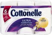 Cottonelle Ultra Comfort Care Toilet Paper, Double Roll, 6 ea