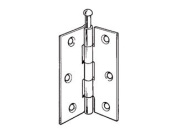 Securit Loose Pin Hinge Brass Plated 75mm