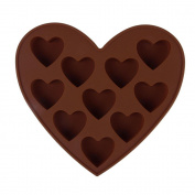Heart Chocolate Maker Muffin Cup Cake Jelly Candy Ice Cupcake Tray Mould Mould 05