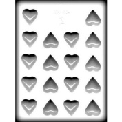3.2cm Heart Candy Mould - Hard Candy