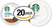 20-count K-cup for Keurig Brewers Decaf Coffee Variety Pack Featuring Starbucks Decaf House and Starbucks Decaf Pike Place Cups