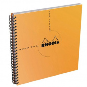 Rhodia Graph Reverse Standard Notebooks, Orange