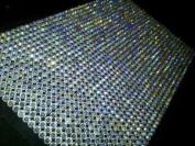 1500 Bulk Sheet of 5mm Self Adhesive AB Diamante Stick on Rhinestone Gems Craft