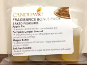 Candlewic Candle Fragrance Bonus Baked Pleasures (4) 30ml Bottles