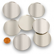 Round 5.1cm Mini Mirror Can Be Used in Many Craft Projects & Mosaics