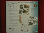 15 Fifteen 12x12 White Scrapbook Pages; 15 Sheets/30 Pages
