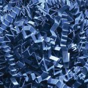 0.2kg Crinkle Cut Paper Shred - Navy Blue - Gift Basket Filling