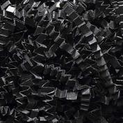 0.2kg Crinkle Cut Paper Shred - Black - Gift Basket Filling