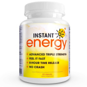 Instant Energy - Maximum Strength 8-hour Energy Time Release