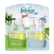 Febreze Noticeables Gain Original Air Freshener Refill (2 Count; .26000ml Each), 50ml