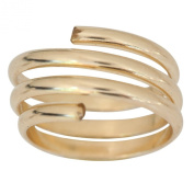 14k Gold Wire Wrap Yoga Coil Adjustable Toe Ring