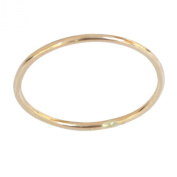 14k Gold Filled 1mm Thin Plain Band Toe Ring