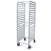 New Star Aluminium 20-Tier Commercial Kitchen Bun Pan Rack, 70cm by 50cm by 180cm