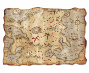 Beistle 54530 Jumbo Treasure Map Cutout, 310cm by 430cm