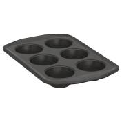 Baker's Secret 1107168 Signature 6-Cup Muffin Pan