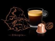 Nespresso Bukeela ka Ethiopia Lungo Origin Capsule Sleeve - 10 Ct