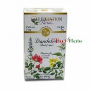 Dandelion Root Raw Tea - Certified Organic - 24 teabags