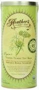 Heather's Tummy Teas Organic Fennel Tea Bags (45 Jumbo Teabags) for IBS, 260ml