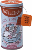Bag Ladies Tea Thank You Tin, 25 Teabags of English Breakfast Tea