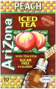 AriZona Peach Iced Tea Iced Tea Stix Sugar Free, 25ml Boxes