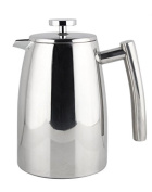 Francois et Mimi Large Stainless Steel Double Wall French Coffee Press,1480ml