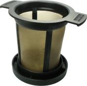 Finum Brewing Basket, medium , black