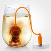 Fred DEEP TEA DIVER Silicone Tea Infuser