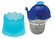 HIC Brands that Cook Floatin' Tea Infuser with Stainless Steel Basket, Whale Shape