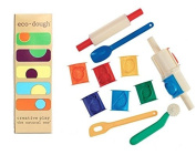 Eco-kids Eco-dough (5 Containers of 120ml) and Darice Clay Tool Set