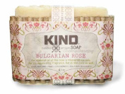 Bulgarian Rose Soap Bar_br_by KIND Soap Company