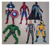 The Avengers Action Figures -6Pcs