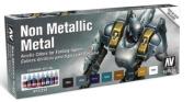 Vallejo Non Metallic Metal Colours