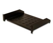 Cantilever Server Shelf Vented Shelves Relay Rack Mount 48cm 2U Black 36cm deep